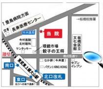 東京都板橋区大山東町57-3マップ
